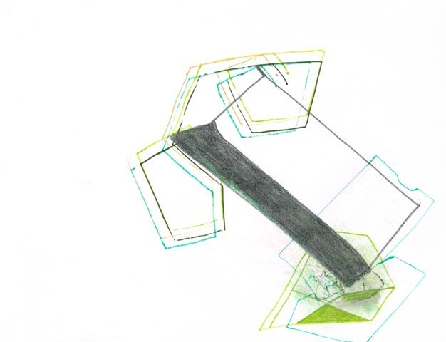Zonder Titel, 2013  24,9 x 32,4 cm