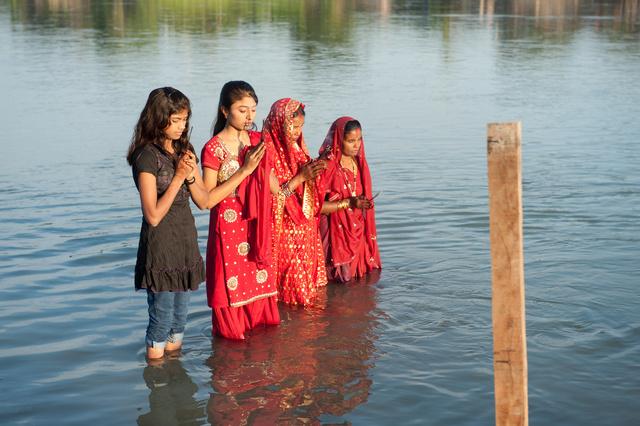Chhath Festival, Dibrugarh, India