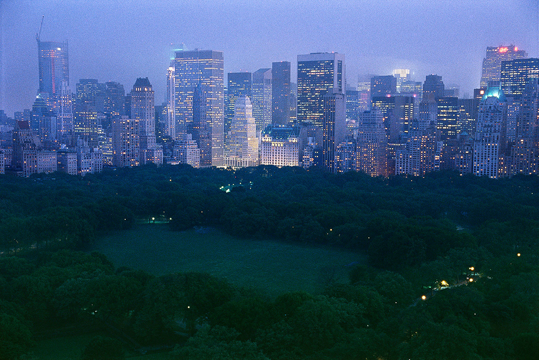 Sheep Meadow, dusk