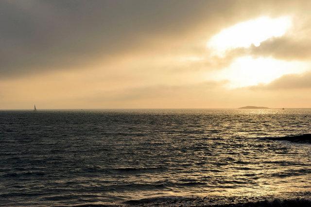 Baie de Quiberon, îlot de Meaban, Morbihan