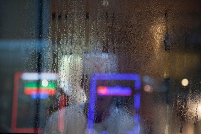 Neon in Rain