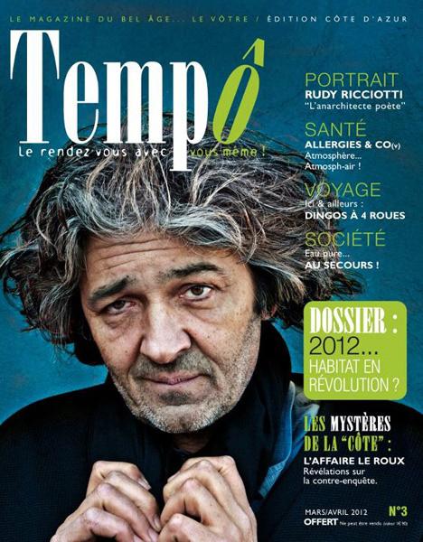 Rudy Riccioti pour le mag Tempô.