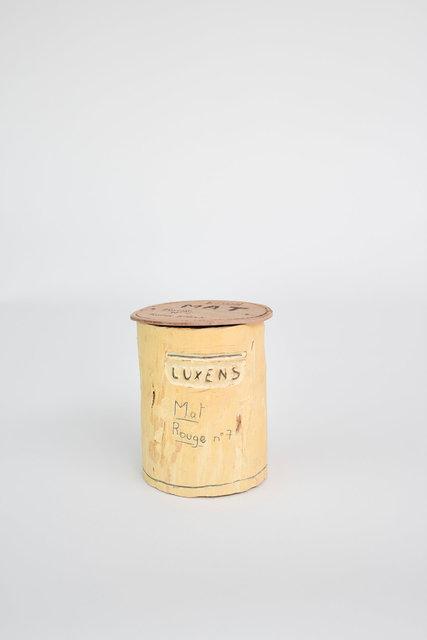 Pot de peinture Luxens Mat rouge - Collège Offenbach