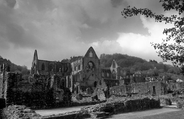L'abbaye de Tintern,Monmouthshire,2002.