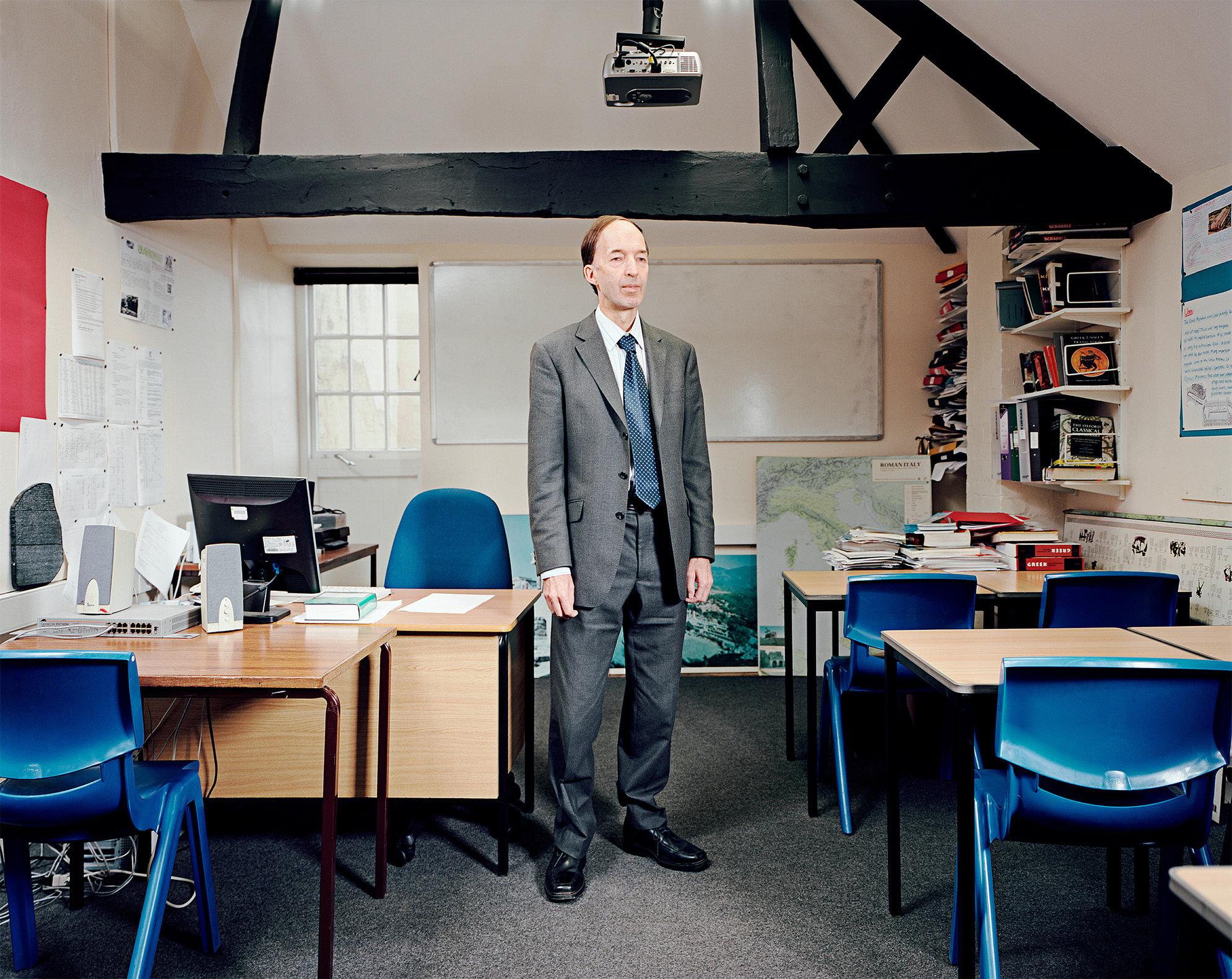 Michael Bevington, Stowe School, Buckinghamshire