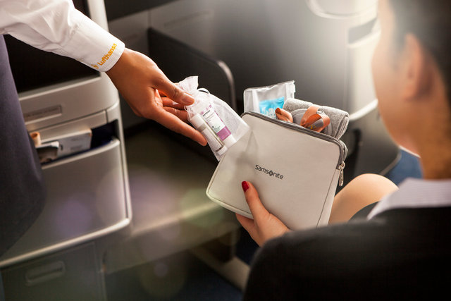 Lufthansa Business Class New Amenity Kit