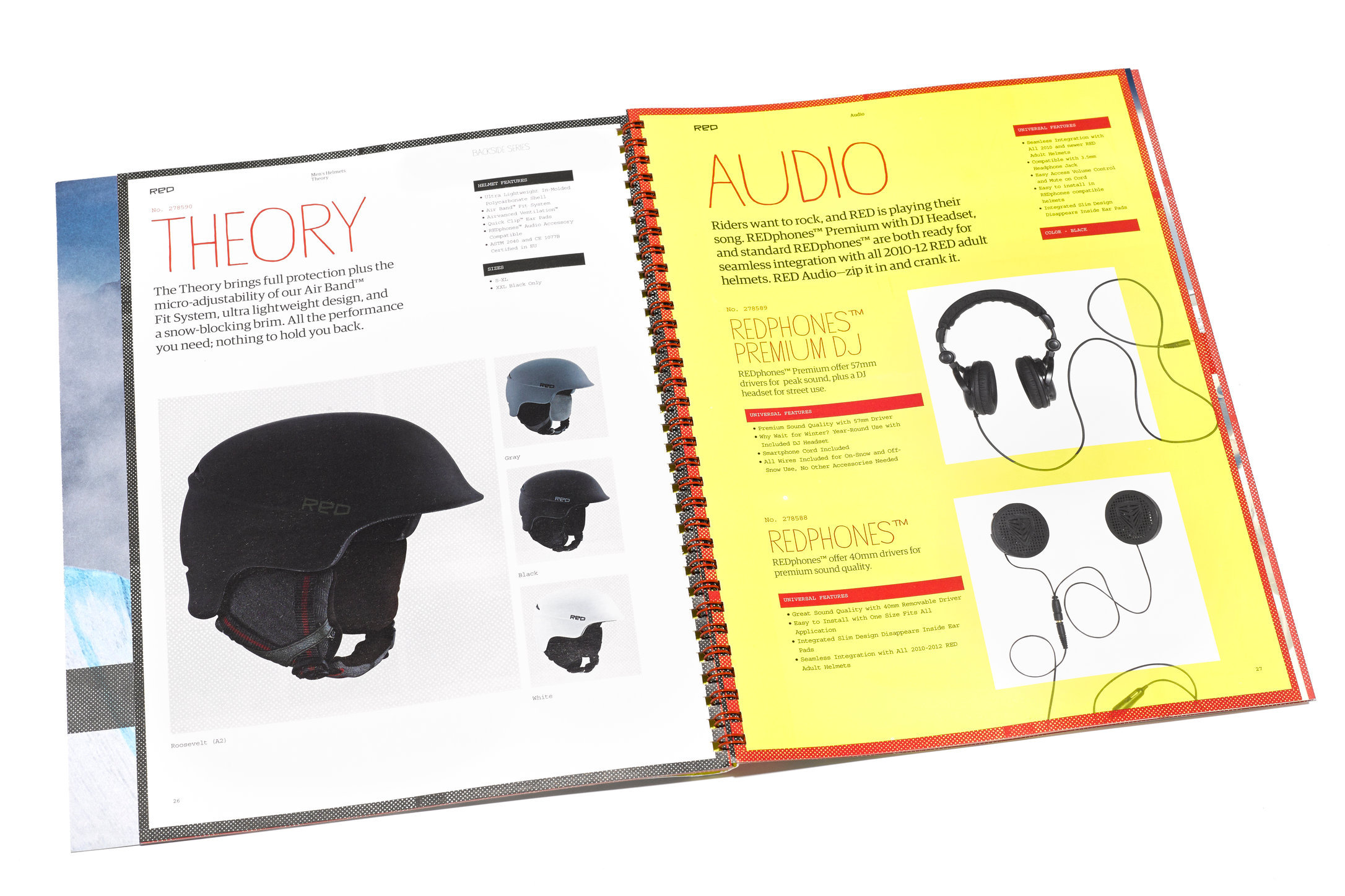 Anon helmets and audio components