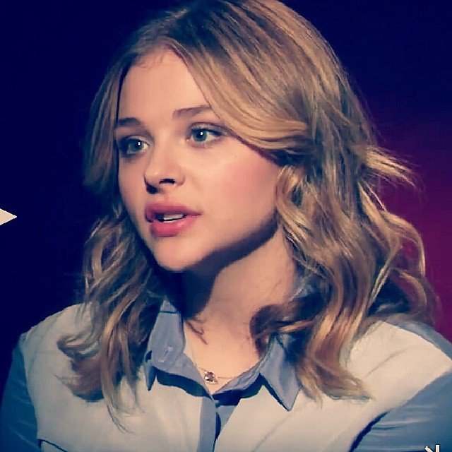 "Actress Chloe Grace Moretz for ""Carrie"" Press Junket"