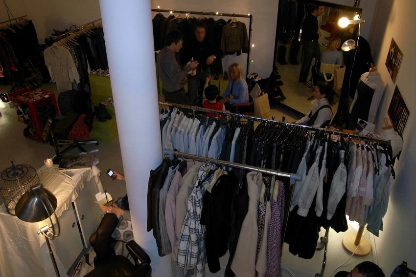 temporary fashion market
