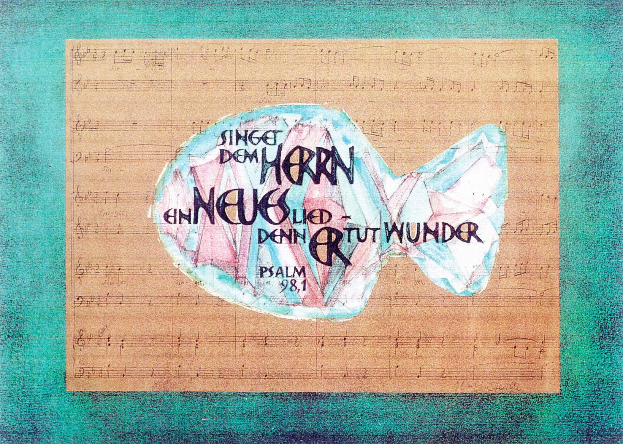 Singet dem Herrn ein neues Lied