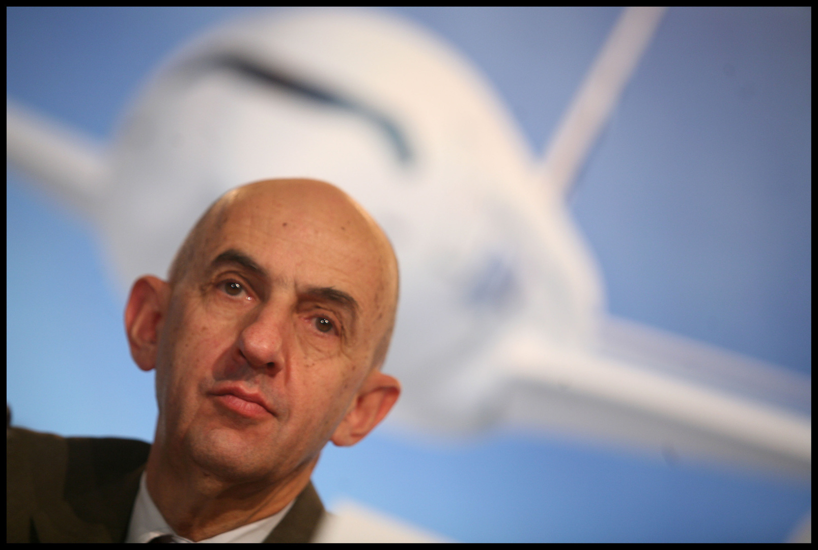 Airbus chief executive, Louis Gallois