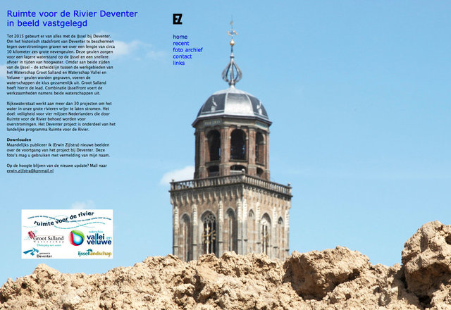 website ruimte voor de rivier deventer