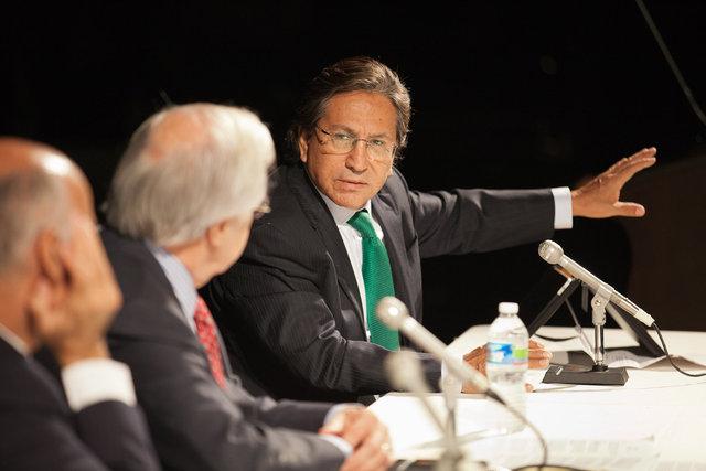 Former President Alejandro Toledo of Peru
