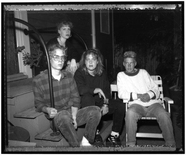 1990.08.23. 4 Kids, Erik leaving for CA