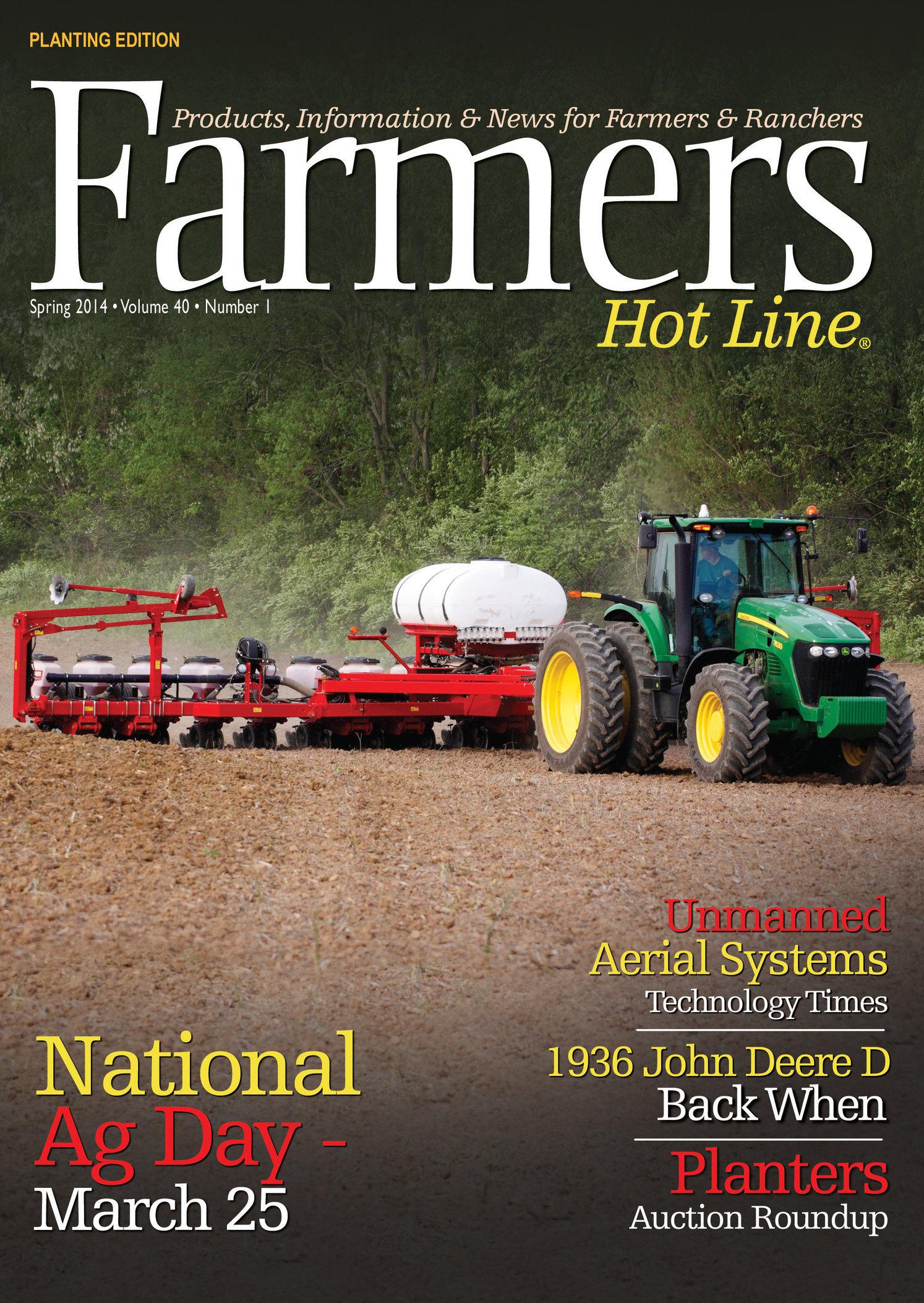 Farmers Hot Line Magazine; © Spring 2014