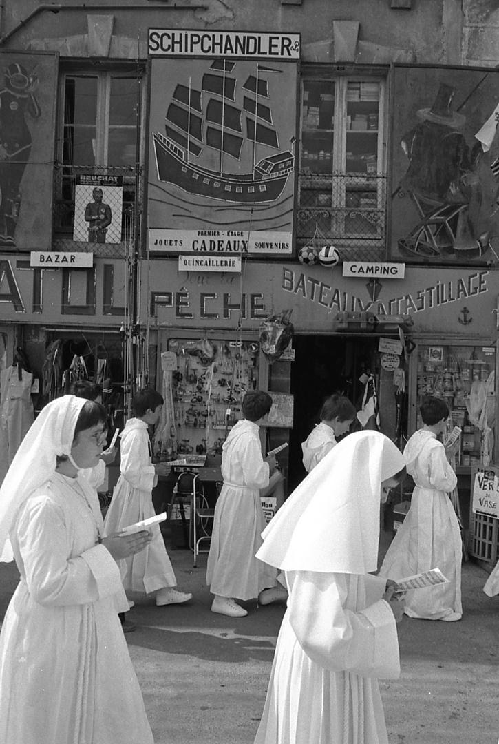 La communion à Belle-Île, Le Palais, 1980