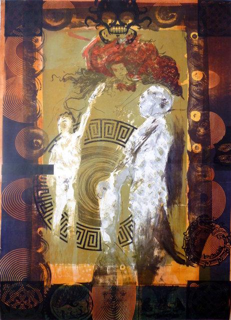 Przemijanie2, 100x70, 2013, litografia