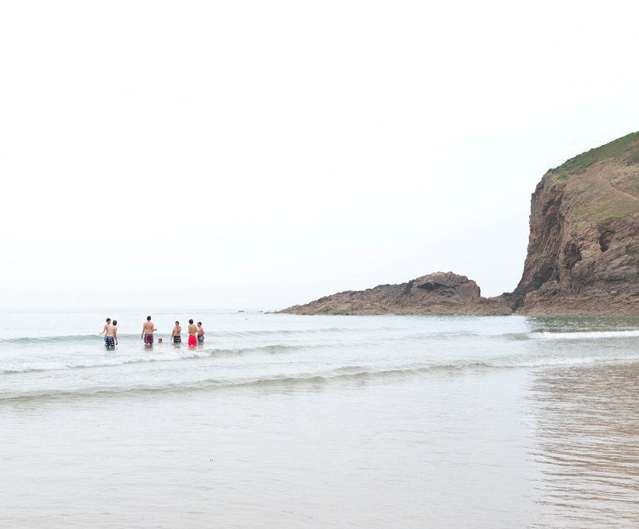 Bathers, Plemont Bay, St Ouen.jpg