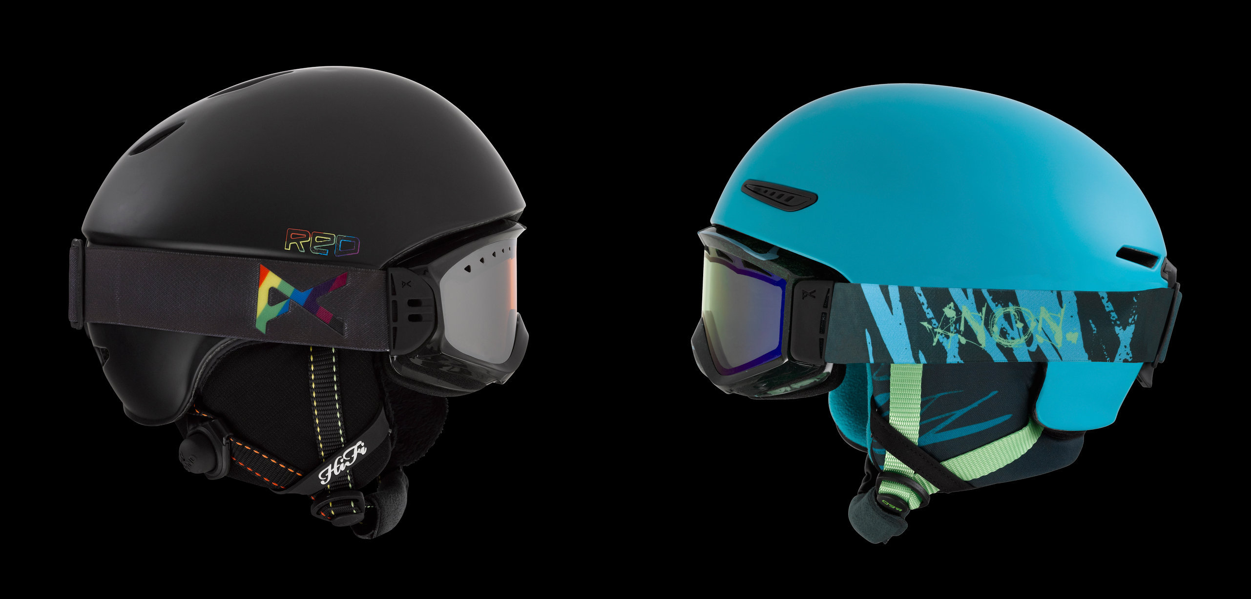 Anon Helmets: Product photography