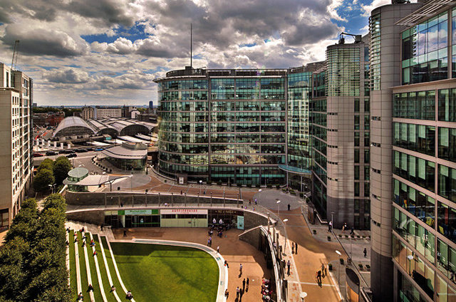Sheldon Square (Paddington Central) - Exterior perspective