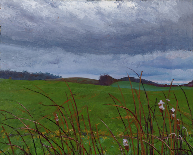 "November Bullrushes, 32 x 40""  sold"