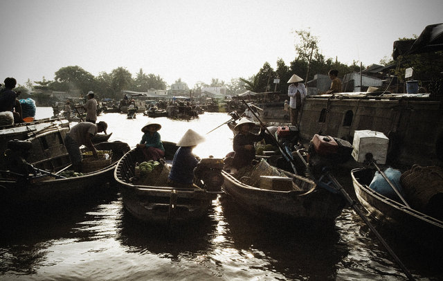 Mekong Delta Floating Market II