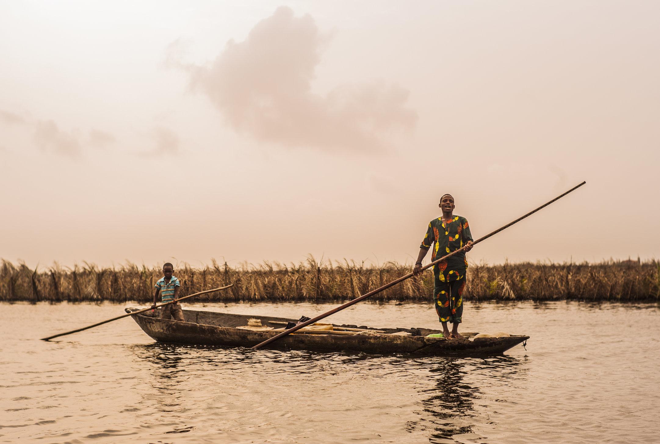 Ganvie, Benin. 2014.
