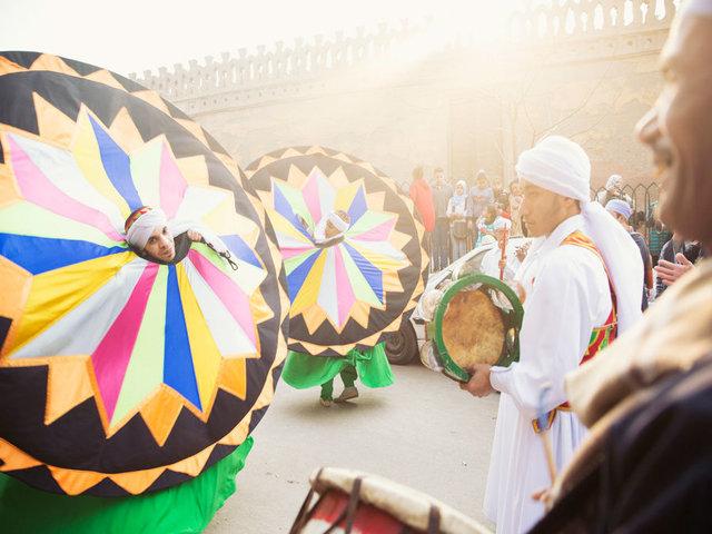 Tanoura dancers - Cairo