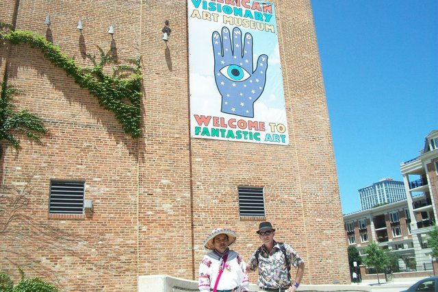 Loza and Shaman Macario @ American Visionary Art Museum (AVAM), Baltimore, MD