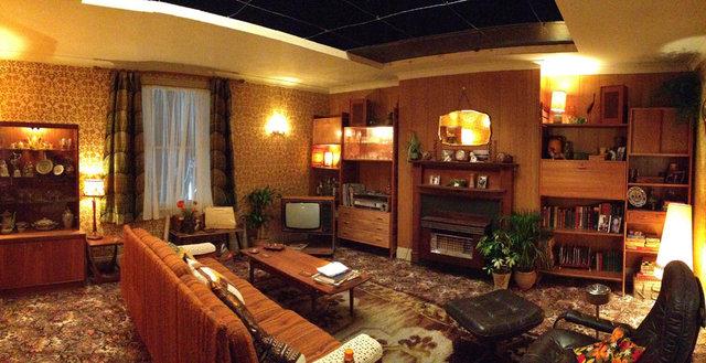 Dressed Studio Set - Eddie's House 1970's