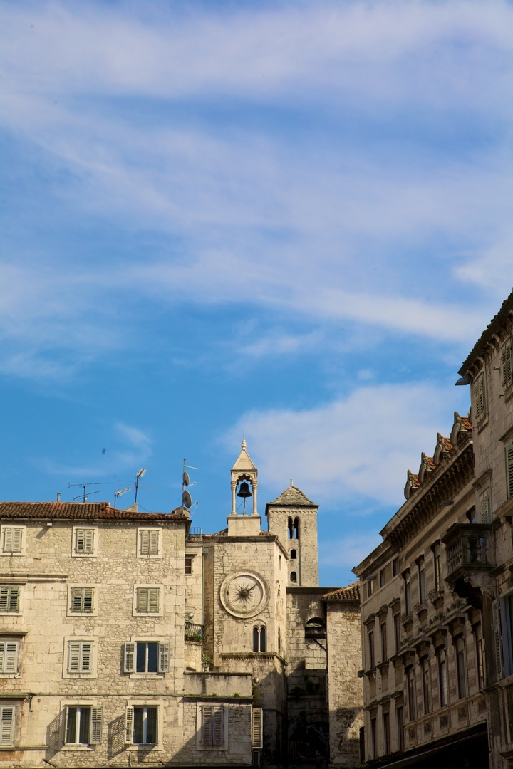 Praça no Palácio Diocletian