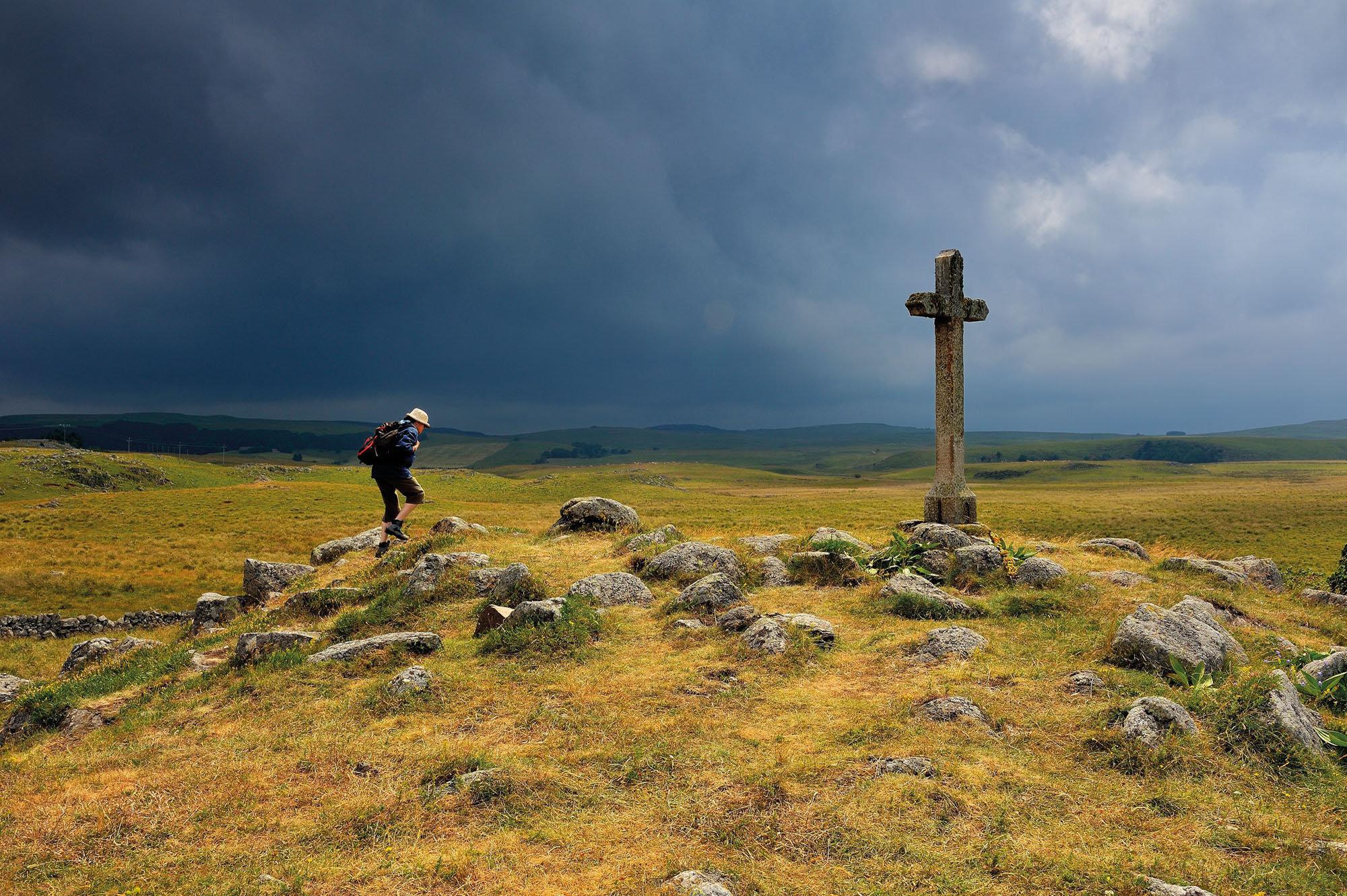 La croix de Saint-Andéol, Aubrac