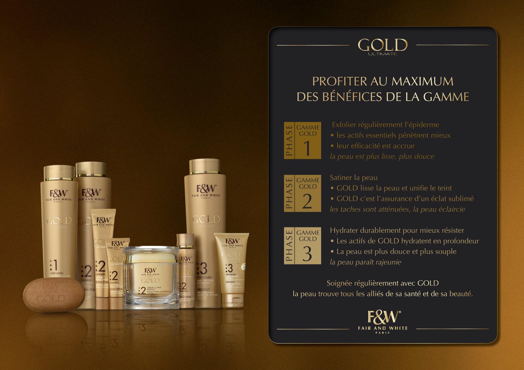 """<font color=""""#aaa7a6"""">Gold : présentation de la gamme (10/20).</font>"""