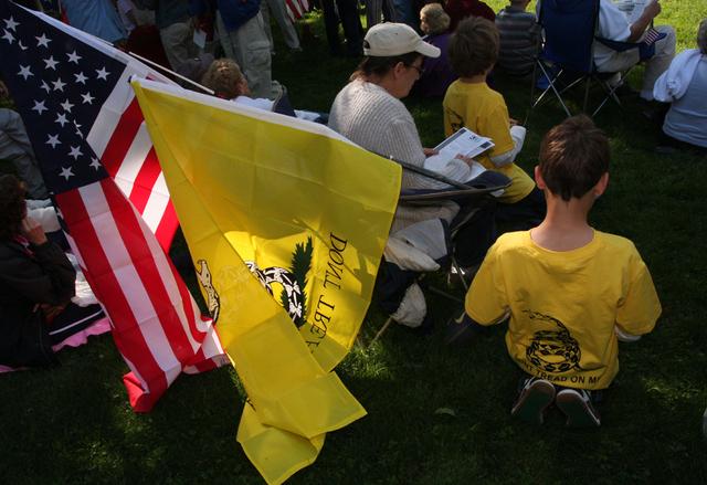 Tea Party Rally - Wilson NC