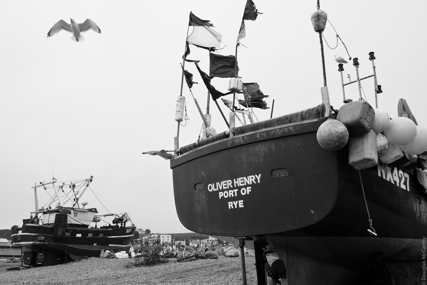 Oliver Henry, Port of Rye