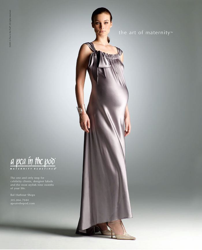 Vogue ad for Pea in the Pod