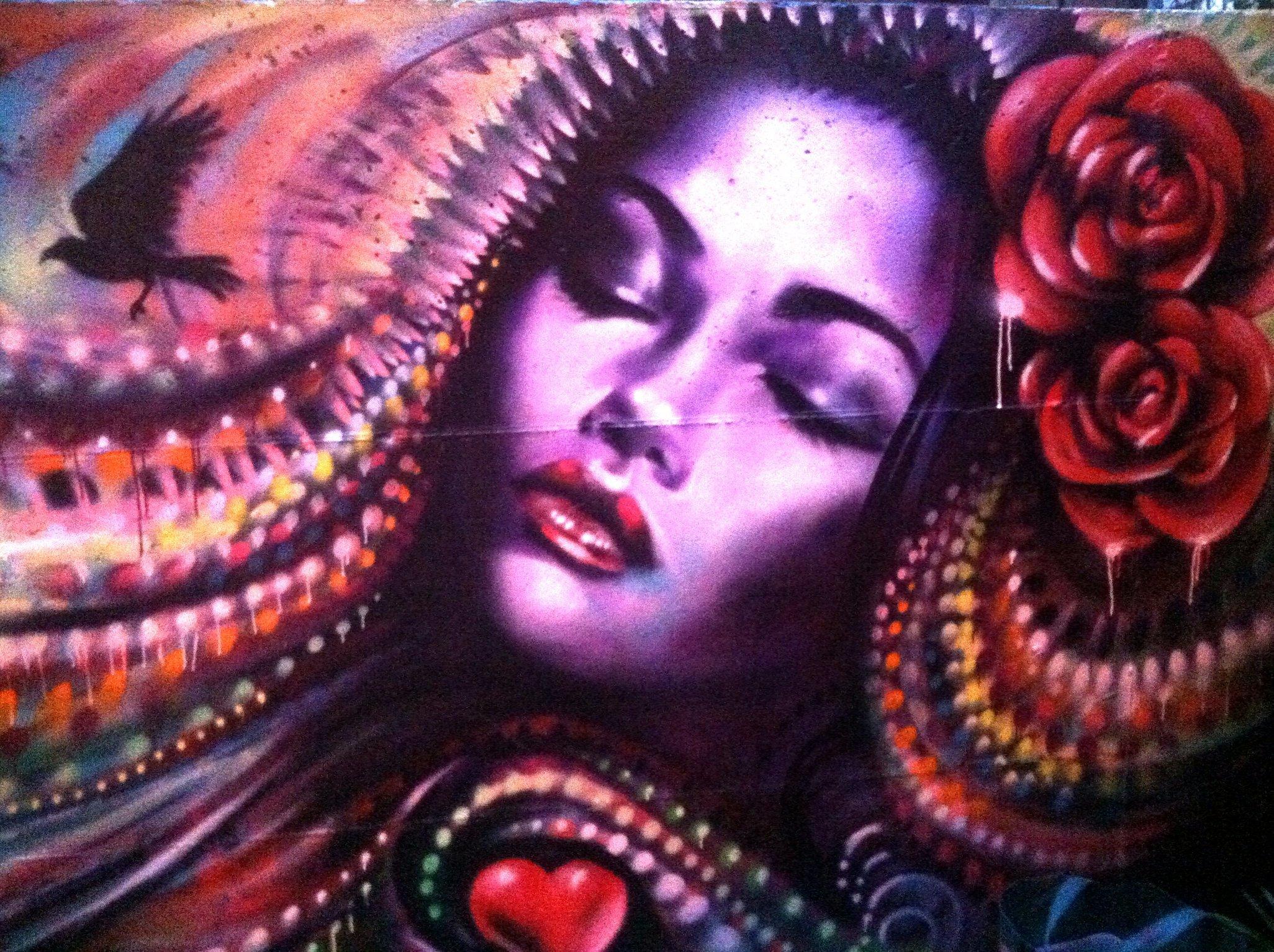 Apt 13 Restaurant mural