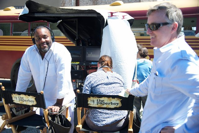 Director Lee Daniels & Ed Cathell III - THE PAPERBOY