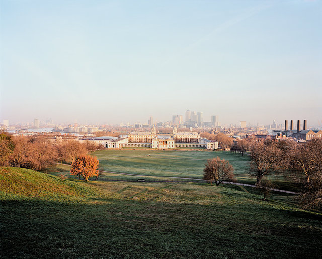 Greenwich Park, National Maritime Museum & Canary Wharf