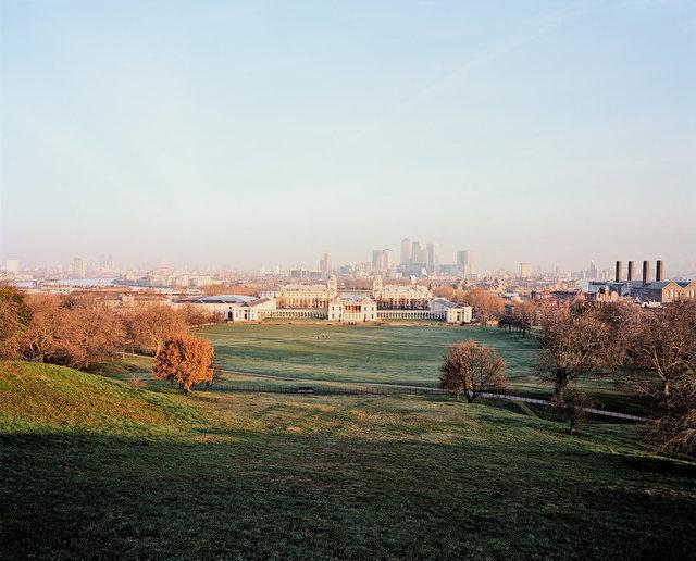 Greenwich Park, National Maritime Museum & Canary Wharf