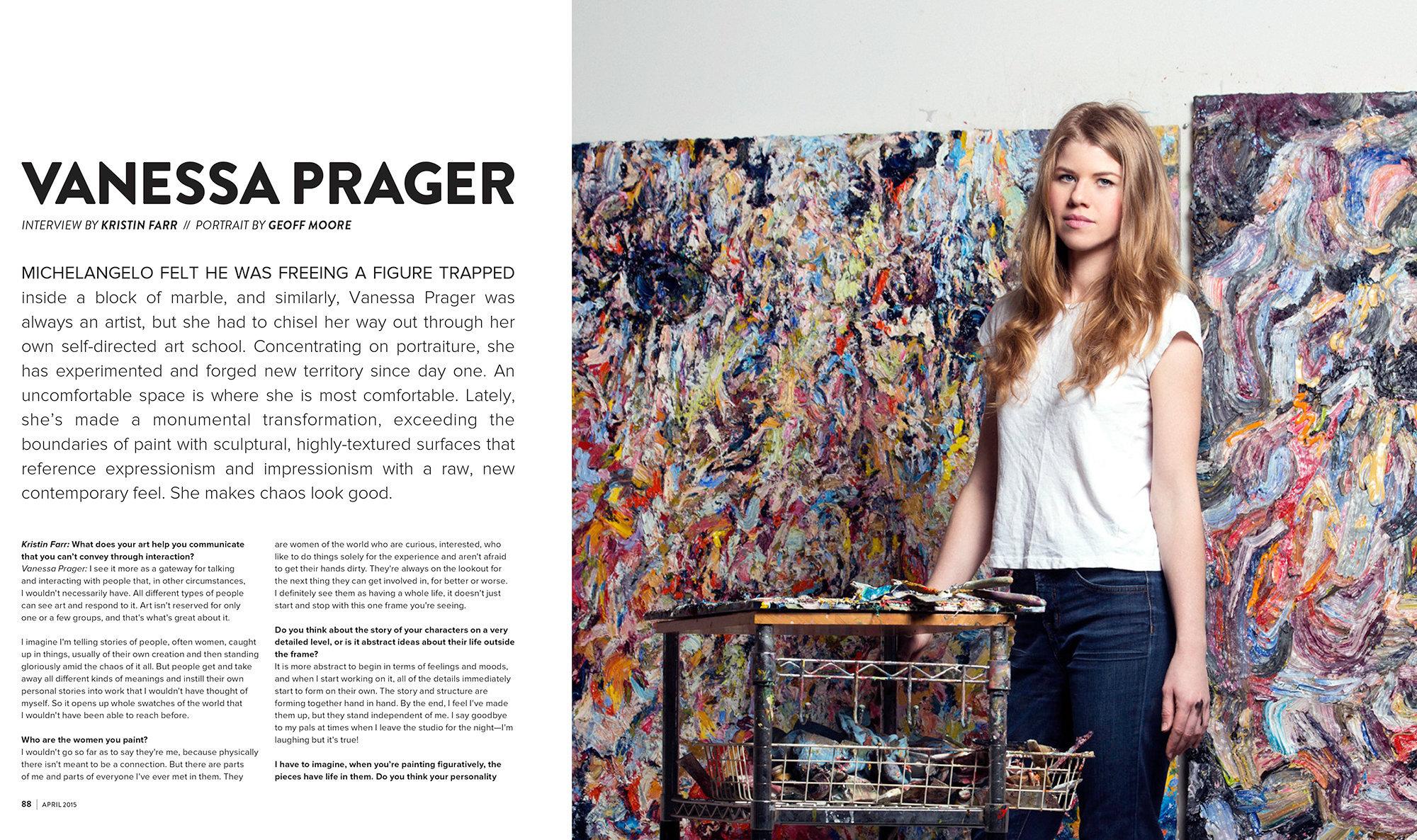 Artist Vanessa Prager Juxtapoz Magazine
