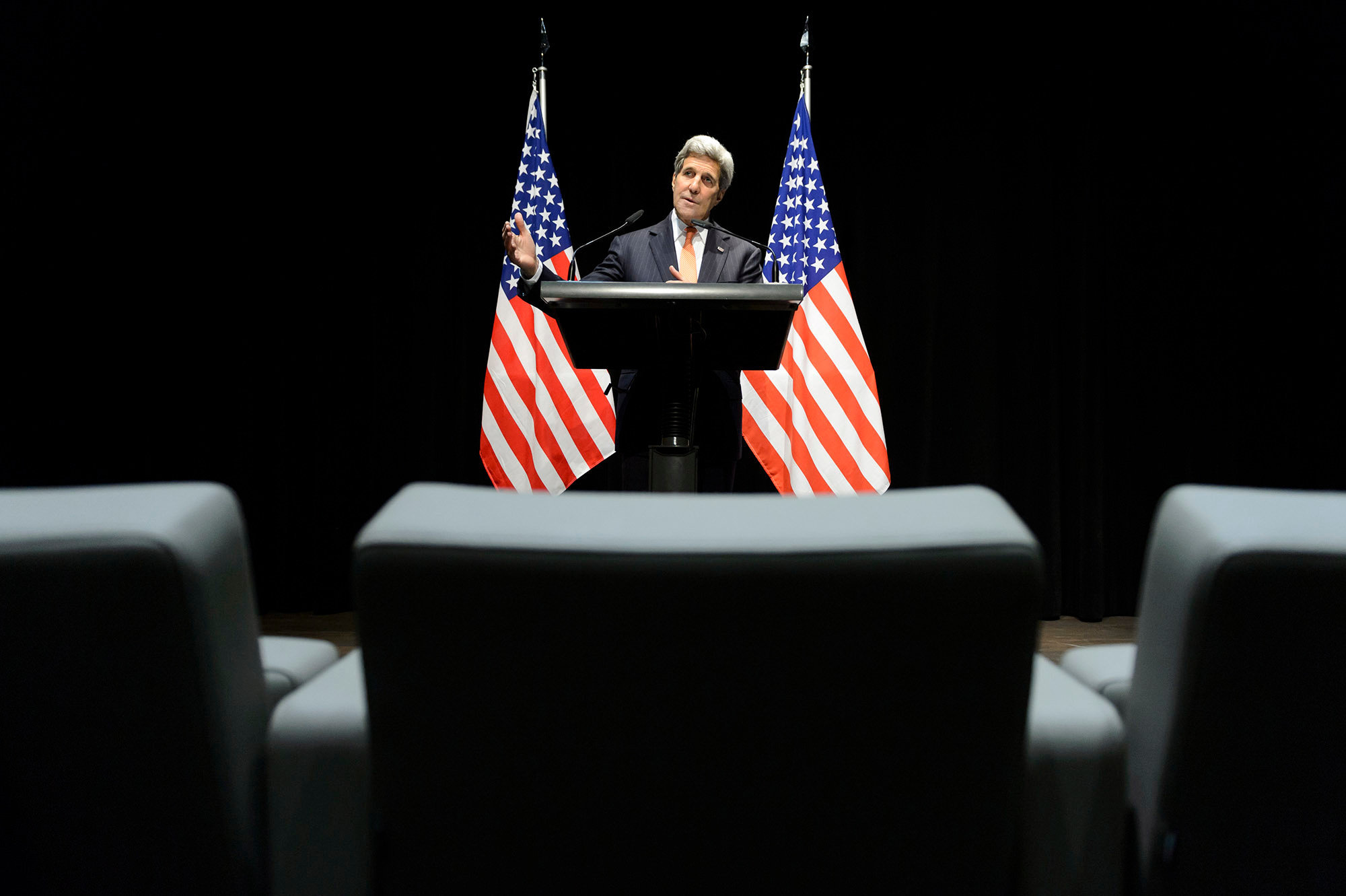 John Kerry - Iran Nuclear Talks - 2015