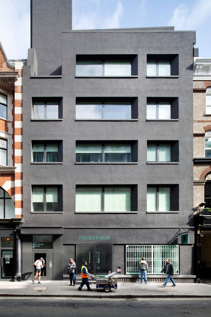 Rathbone Place, London. Sergisson Bates Architects