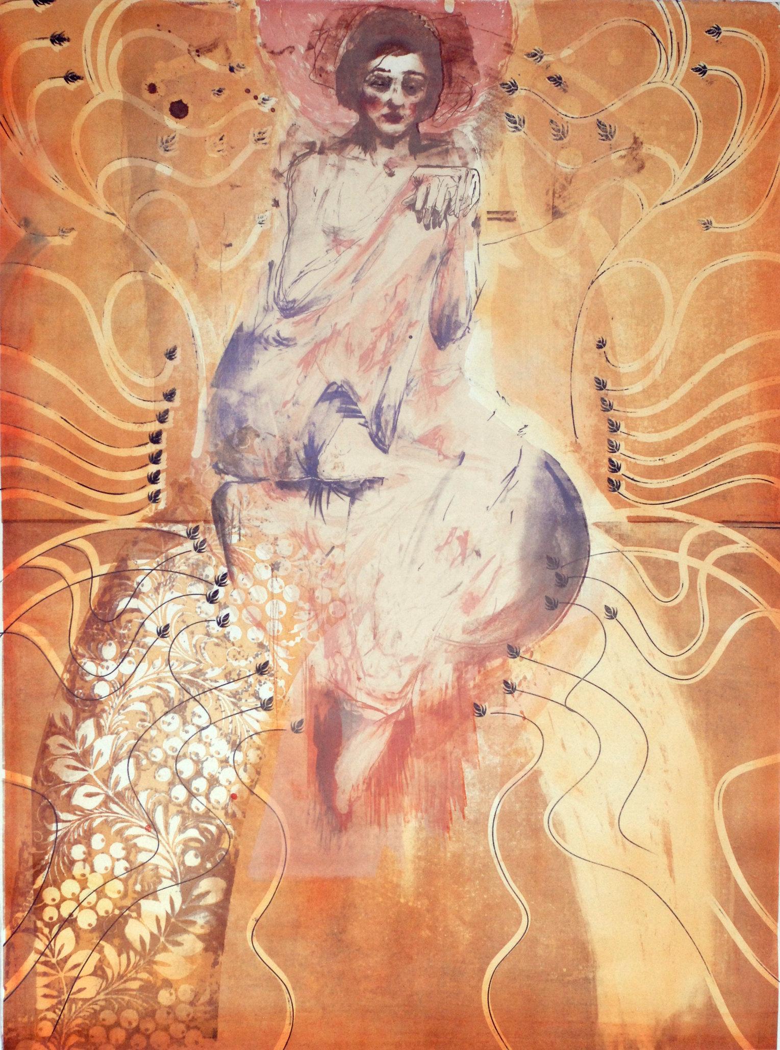Innocentia, litografia 77x107 2013
