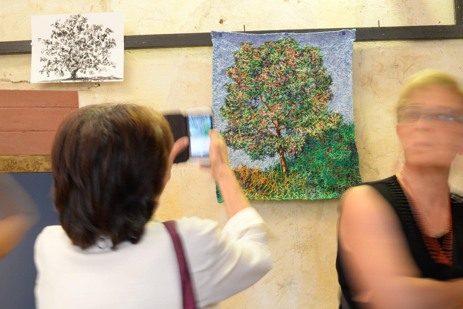 Open Studio, Palazzo del Gato, Casaprota. Photo: Susanna Emili