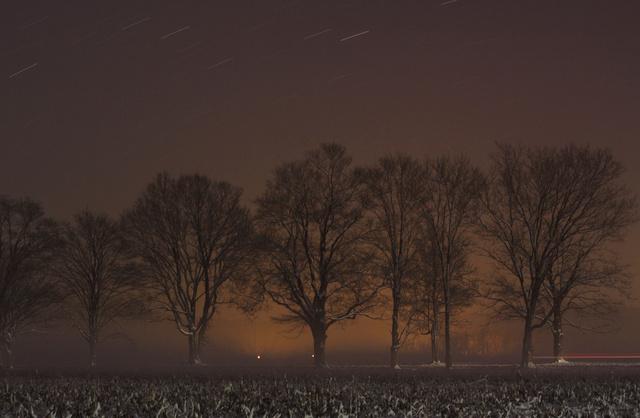 Snow Storm at Night, Ohio