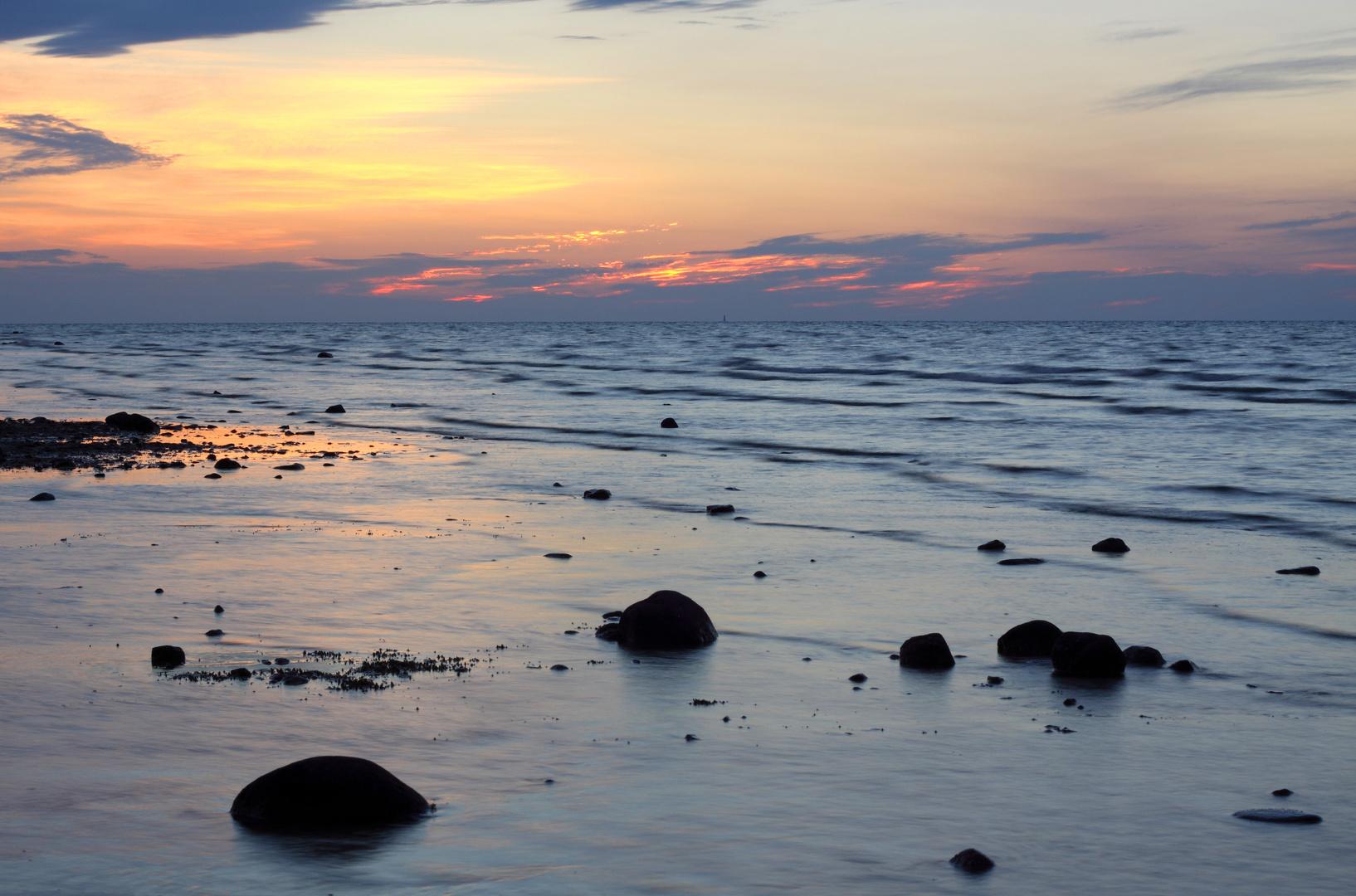 Sunset at Wilderness State Park, Michigan.