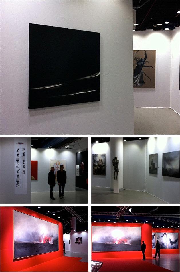 Ile d'art par Christian Noorbergen / Hivernales / Montreuil
