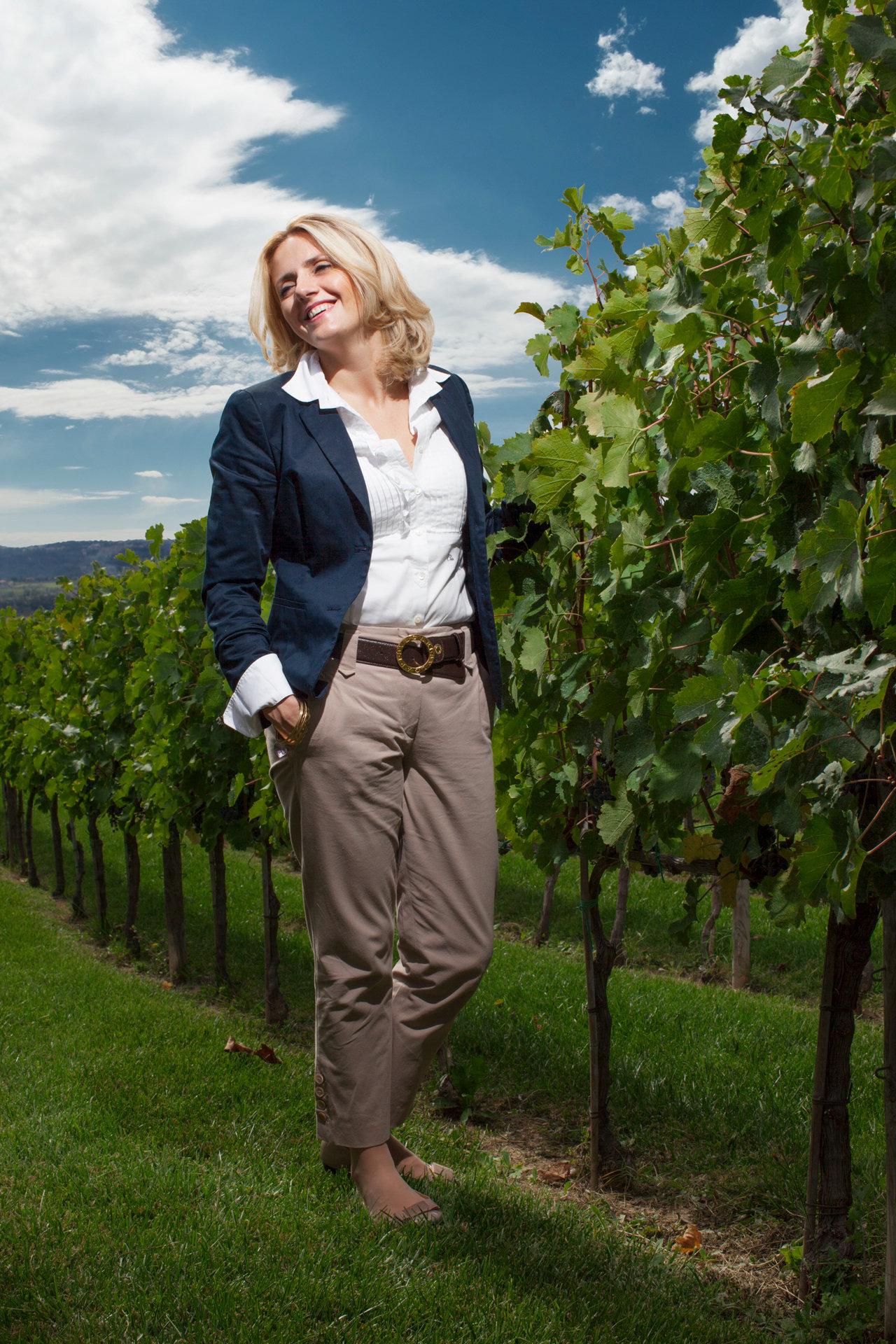 Dominga Cotarella, wine maker