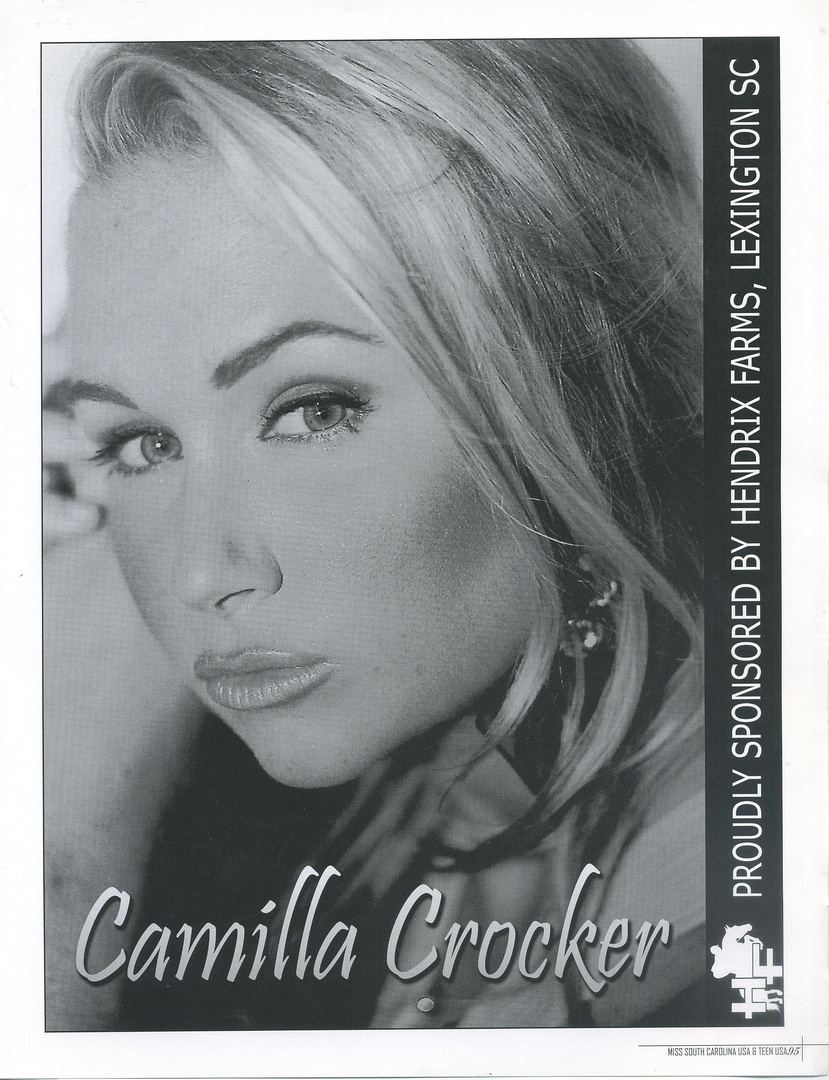 CAMILLA CROCKER-  full page tearsheet